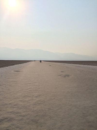 Salt Desert Sky