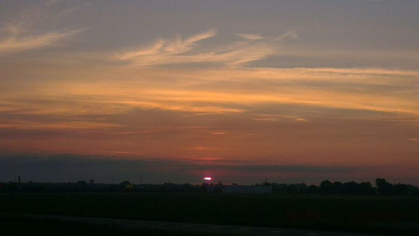 Sunset... Good morning Landscape On The Road Born To Be Wild Sunset
