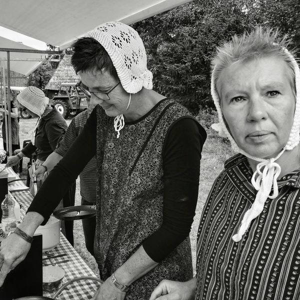 """""""Harvest Festival"""" Harvest Festival Farmers Farmer Traditional Clothing Holland Netherlands Blackandwhite Blackandwhite Photography Blackandwhitephotography Blackandwhitephoto LGV30photography LG  LGV30 Streetphotography Street Photography Streetphoto_bw Togetherness Old-fashioned Archival"""