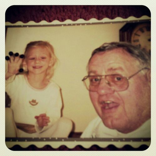 Rest in peace grandpa. I love you so much! And will always miss you! Rip MeandGrandpa OlivesOnMyFingers