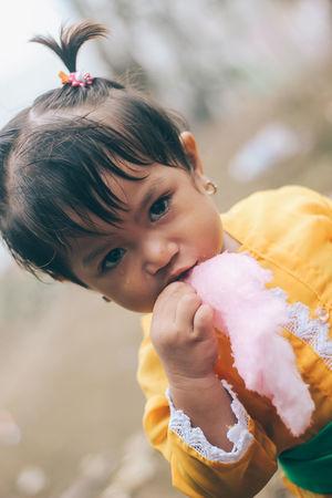 Cotton candy The Portraitist - 2016 EyeEm Awards Bali Balinese Balinesegirl Kids