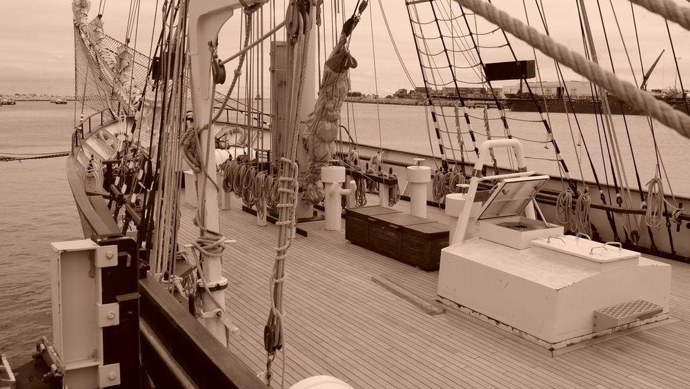 Bygone Times Nautical Vessel Sailing Ship Transportation Waterfront