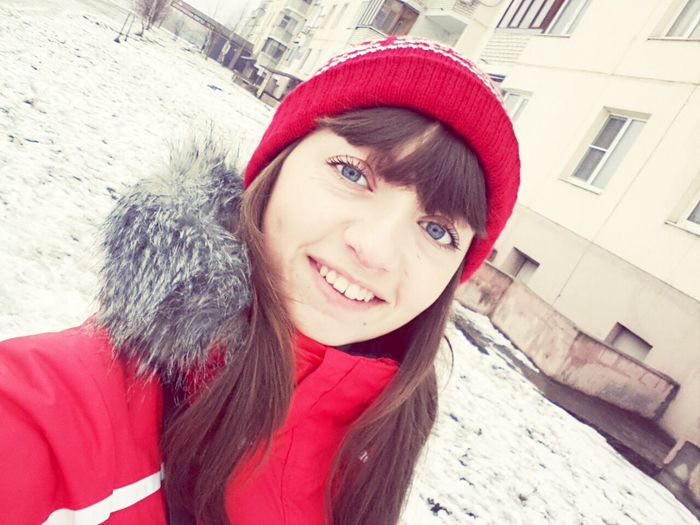 Hi! :) Winter Walk Nice Day♥ Good Mood♡