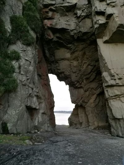 Rock - Object Rock Formation Outdoors Beauty In Nature Day Nature No People Architecture Beauty In Nature Rock Formation Nature Erosion Playa Rocas Costa Chilena Oceano Cuevas Window Vacations