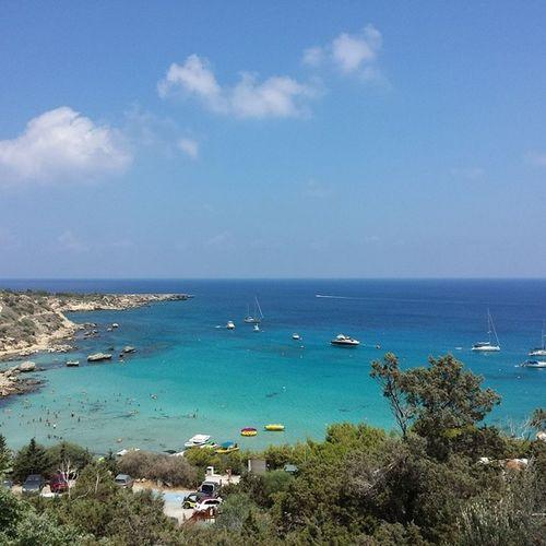 Cyprus Ptotaras Ayianapa Beach seanikond5100blue