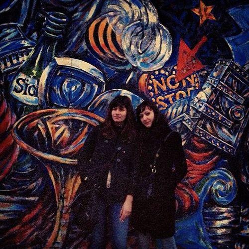 Berlin Dasistsoberlin Liebeberlin Friends viviana berlinermauer eastsidegallery friedrichshain kalt underground schnee