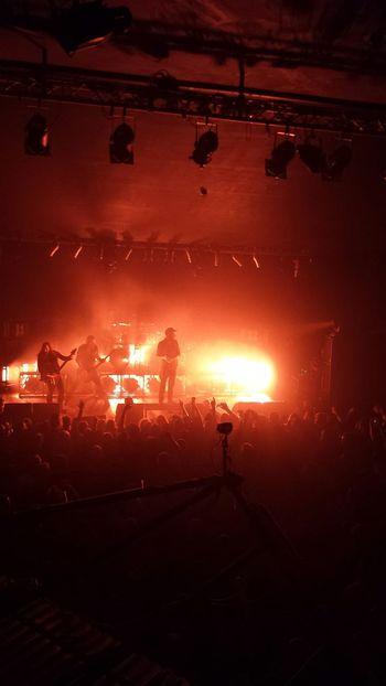 Concert Rock In Flames Krakow Poland