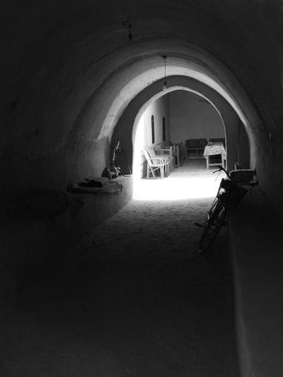 Hassan Fathi Village in Luxor, west bank, Egypt. Arch Indoors  Day Architecture No People Vaulted Ceilings Vault Vernacular Luxor Luxor,Egypt EyeEmNewHere Calm Blackandwhite B/w Monochrome EyeEm New Here EyeEm Best Shots - Black + White EyeEm Best Shots EyeEmBestPics Upper Egypt  Luxor, Egypt EyeemEgypt Thisisegypt Soft Light
