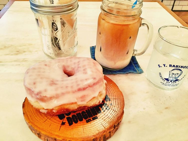 Donuts Cafe Delicious Latte Coffee Coffee Time Instagram good tasty