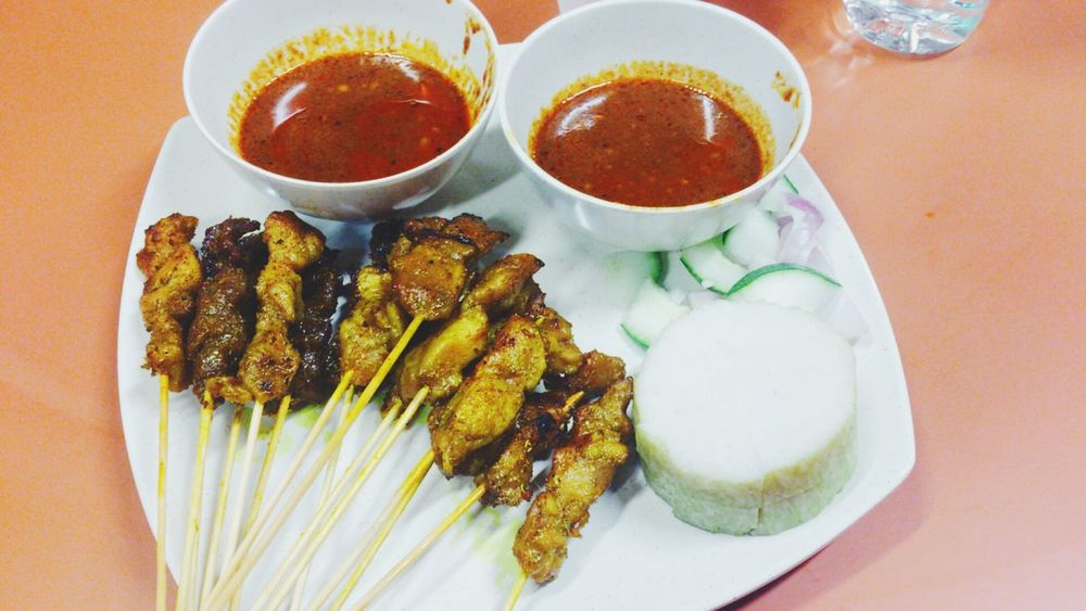 Break fast... Alhamdulillah Satay Malay Food Ramadhan