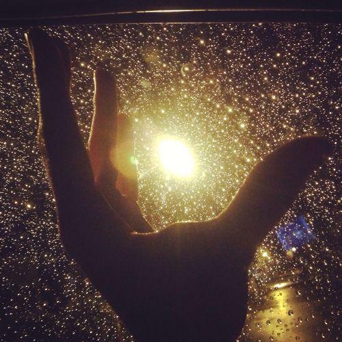 Rain & night... Drops like stars Enjoying Life Hello World Taking Photos