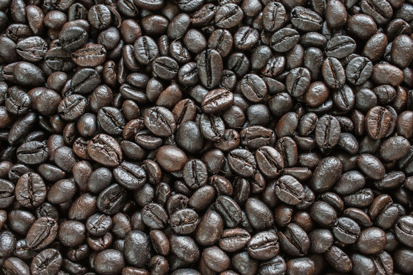 Abundance Backgrounds Brown Close-up Coffee - Drink Coffee Bean Coffee Cup Food Food And Drink Freshness Full Frame Group Of Objects Indoors  Large Group Of Objects Mocha No People Raw Coffee Bean Roasted Roasted Coffee Bean