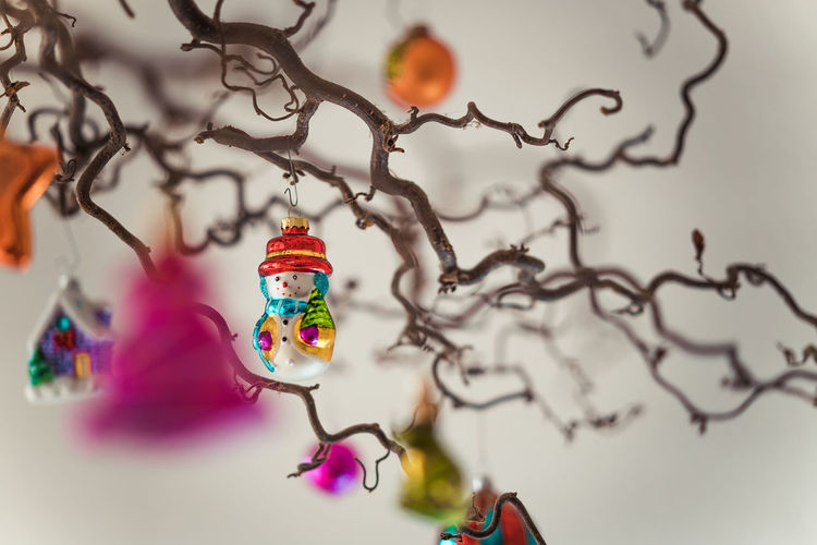 Christmas Decoration Christmas Decoration Christmas Festive Decoration Art And Craft No People Creativity Multi Colored Close-up Indoors  Selective Focus Still Life Craft Focus On Foreground Celebration Representation Holiday Figurine  Tree Hanging Toy