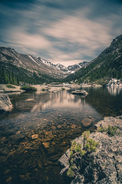Reflecting Mountains Reflection Lake Water Mountain Rocky Mountain National Park Rocky Mountains Water Sky Cloud - Sky Nature No People Reflection Lake Beauty In Nature Plant Tranquility Scenics - Nature Tree Day Tranquil Scene Outdoors Idyllic
