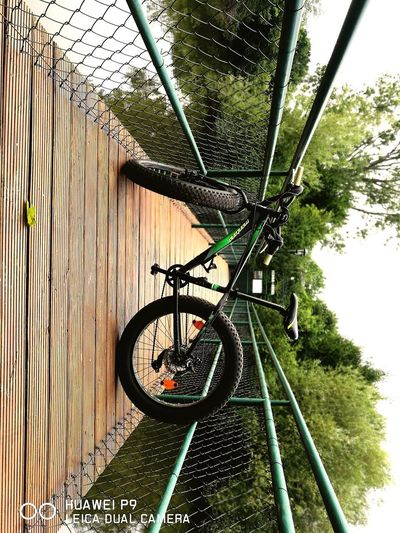 Bicycle Day Outdoors No People Nature Sky A Small Ride Frankfurt Nied