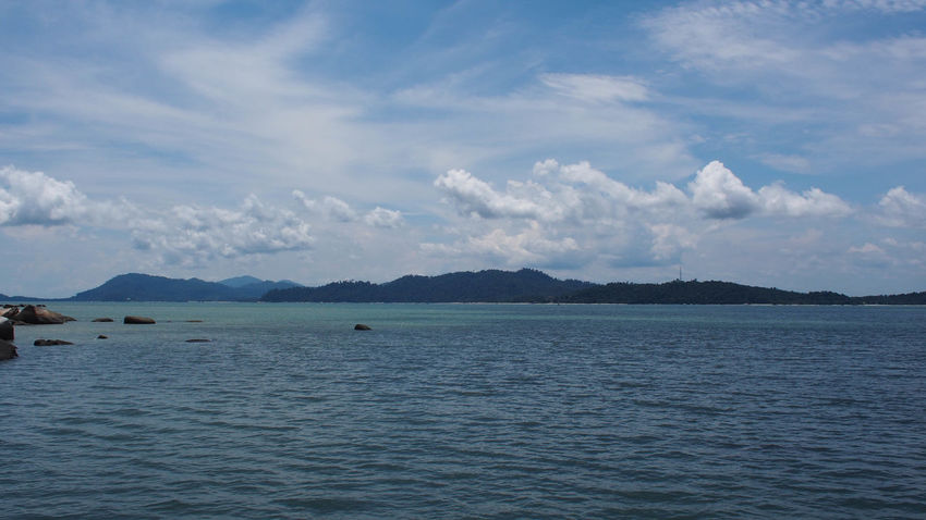 Tranquility view of blue ocean and blue sky on Pangkor Island, Malaysia Holiday Jet Boat Nature Ocean View Pangkor Island Beach Beauty In Nature Blue Blue Sky Blue Sky And Clouds Cloud - Sky Day Nature Nature_collection No People Ocean Outdoors Sand Scenics Sea Sky Tranquil Scene Tranquility Water Waterfront