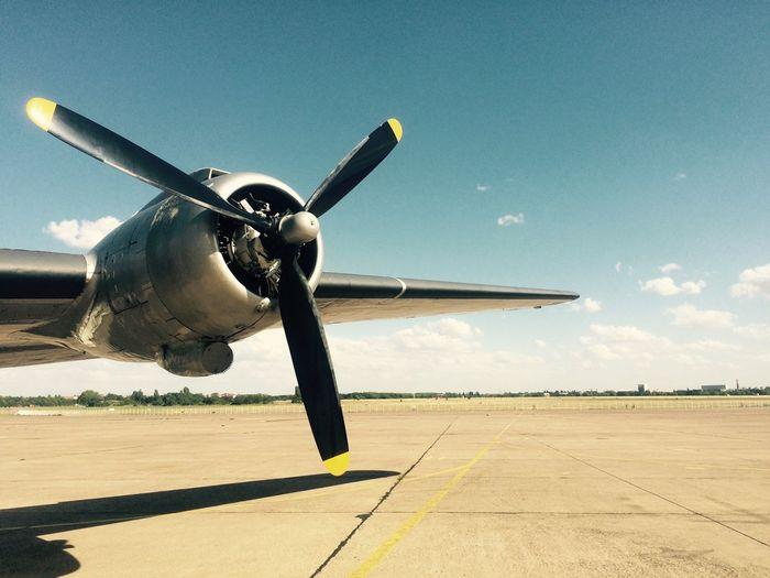 Eyeem Tempelhof Adventure Nofilter Plane Propeller Wing