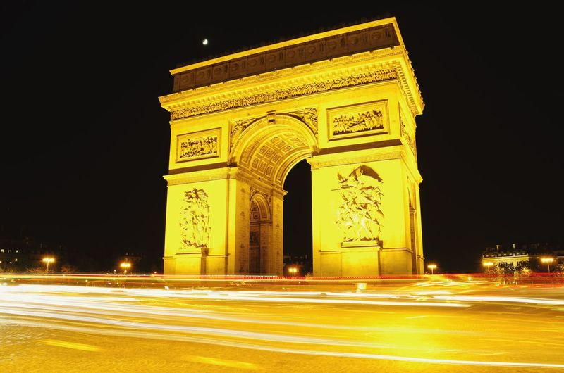 France Paris Paris, France  Triumphal Arch Archway Of Triumph Check This Out Taking Photos Travel Enjoying Life