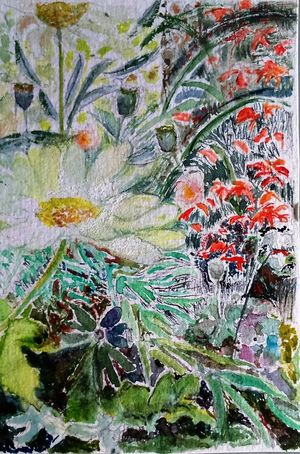 6x4 Watercolour Surrey Artists'Open Studio for Chertsey Artist, 19 artists taking part at 6a Windsor Street Chertsey kT16 8AS from 11to12 and 18to19 June opening from 11am to 5pm The Purist ( No Edit, No Filter ) Watercolour ArtWork I ❤️ Garden EyeEm Hd Wallpapers