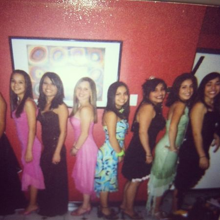 Looky what I found! TBT  Highschool Skanks Freshmen homecoming myhowwehavechanged @get_em_april @masimo1313 @kattie_booo