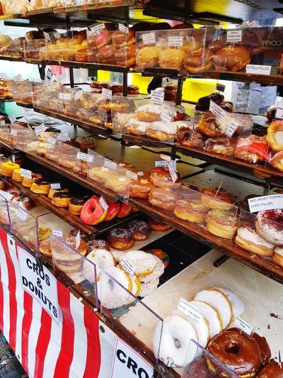 Camden Town Camden Market, London London Ready-to-eat Food Yummy Donuts Doghnuts Bıg Delicious