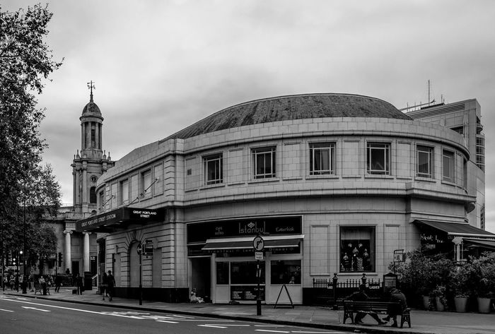 Great Portland Street Underground Station, London Architecture Black And White Monochrome FUJIFILMXT2 Monochrome Photography FUJIFILM X-T2 Architecture London Subway Train Underground Station  Underground Station  Train Station Railway Station