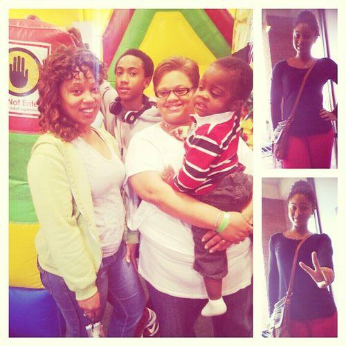 Me & The Family At Monkey Joe's!!!