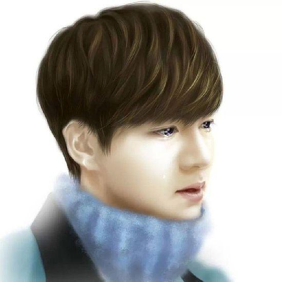 He's crying :'( Leeminho Kimtan Last Upload RunningMan start exo episode kbai heirs inheritors { adios } babaii chingus .