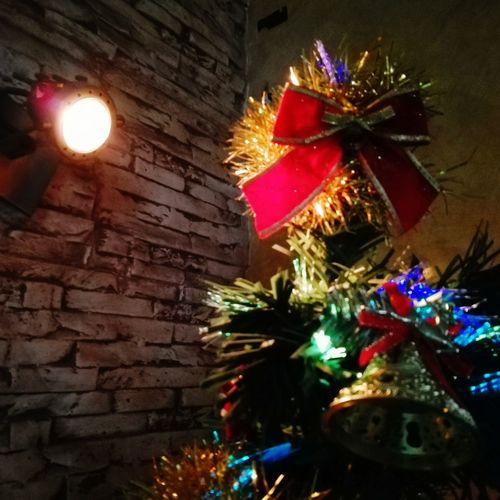 Christmas Christmas Night Tree Christmas Tree No People Celebration Close-up Multi Colored Indoors  Christmas Decoration Tradition Illuminated First Eyeem Photo