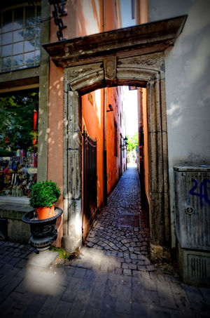 Architecture Building Cobblestone Heumarkt  Historical Narrow Old Town The Way Forward Travel Destinations Walkway