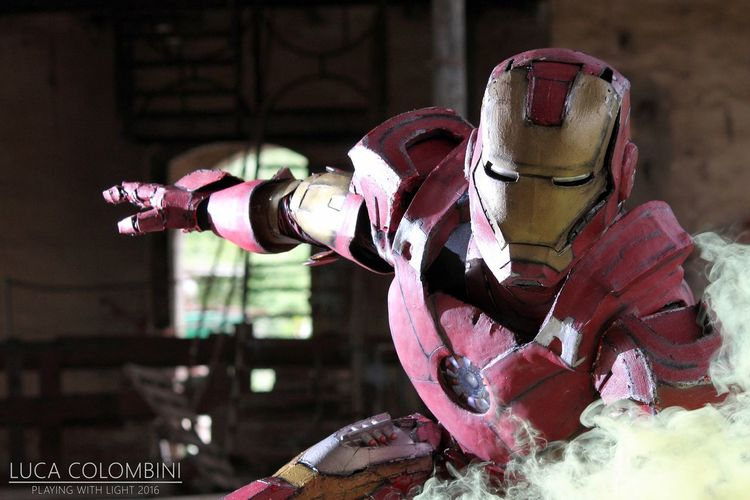 Marvel Tonystark Ironman Cosplay