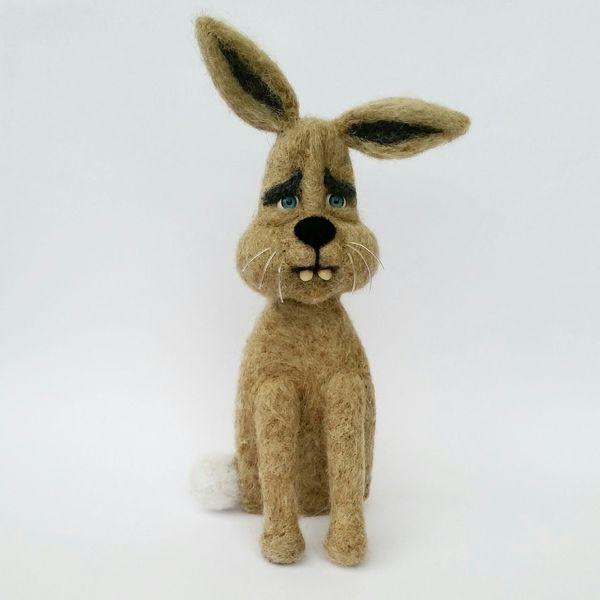 where are my carrots? Needlefelting Feltdolls Toys Felting Art, Drawing, Creativity Arts And Crafts Needle Felted Rabbit Rabbits