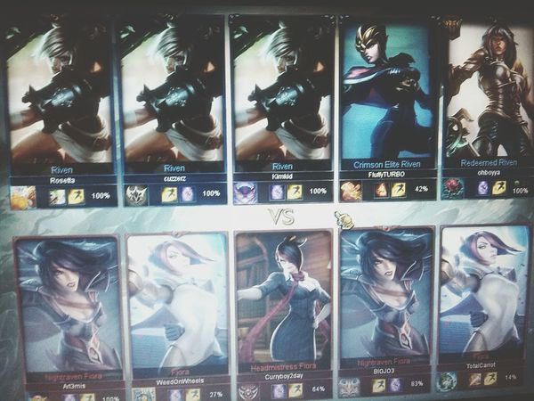 One for allLeague Of Legends