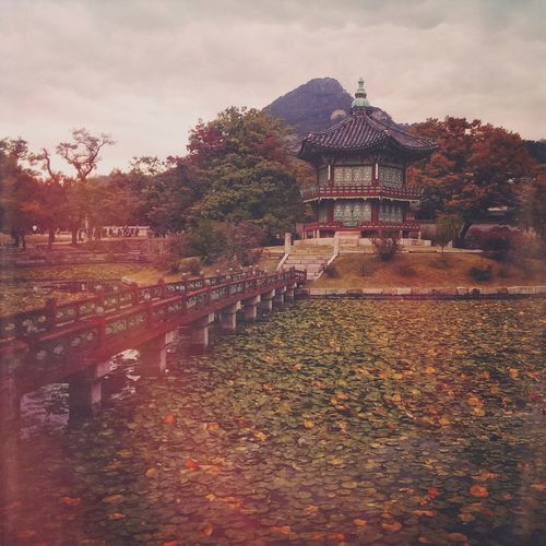 Tagsforlikes ASIA Korea Palace Mextures Beautiful Vacation Trip Nature Cloudy Seoul Gyeongbokgung