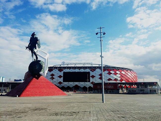 Spartak Спартак Stadium стадион