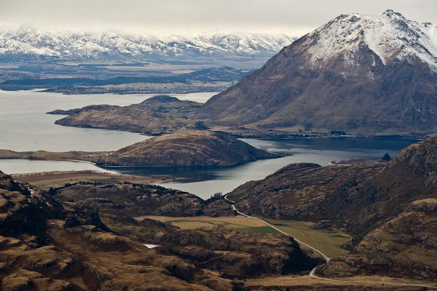 The Great Outdoors - 2016 EyeEm Awards NEW ZEALAND > Spectacular scenery around every corner, this view is from the Treblecone access road near Wanaka in August Fresh On Market 2016