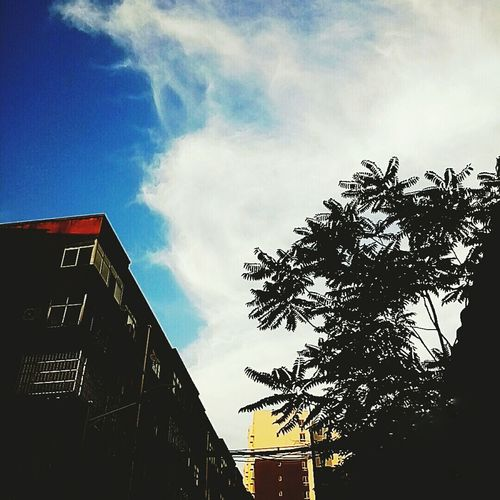 Sky And Clouds (ノ≧ڡ≦) First Eyeem Photo