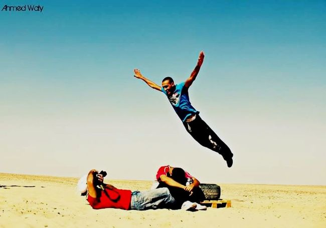 Arms Raised Happiness Human Body Part Flying Enjoyment Outdoors Jumping Parkour And Free Running Parkour TakeOff Landing Superman