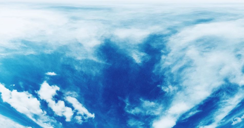 Draw In The Sky Cloud Clouds And Sky Mysterious Blue Sky Scenics Backgrounds Tranquility Outdoors No People Sky Only Day Tranquil Scene Abstract Water Low Angle View First Eyeem Photo