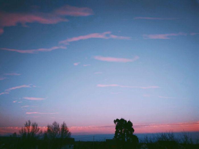 Sky Everning Imazing