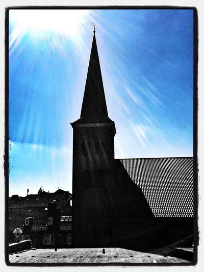 Church!  Sun_collection, Sky_collection, Cloudporn, Skyporn