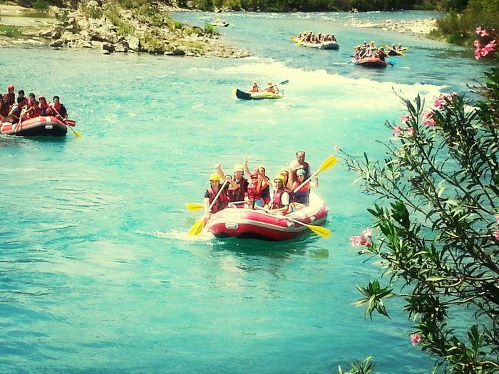 Rafting!! Greenpeace Enjoy Nature Enjoy Life #wonderfull everything and life whit friends ..