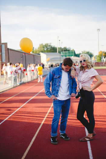 50's Throwback with Tyler 50s Style Fashion Football Game