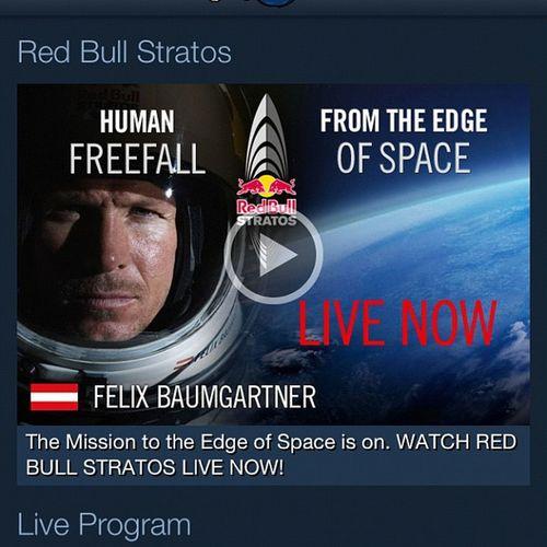 Red Bull RedBull Stratos freefall austria