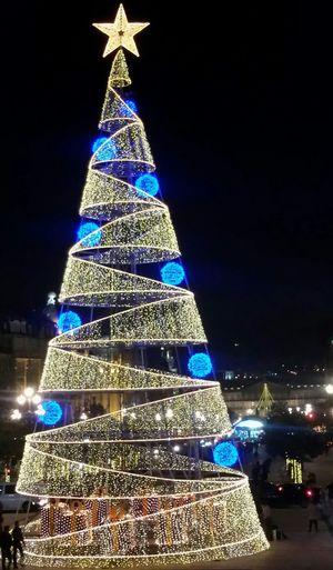 Best Christmas Lights Christmas Tree Arvoredenatal Natal2015 Joyeux Noël Natale2015 Lights Flashlight Star EyeEm Porto Oporto, Portugal Ilovephotography