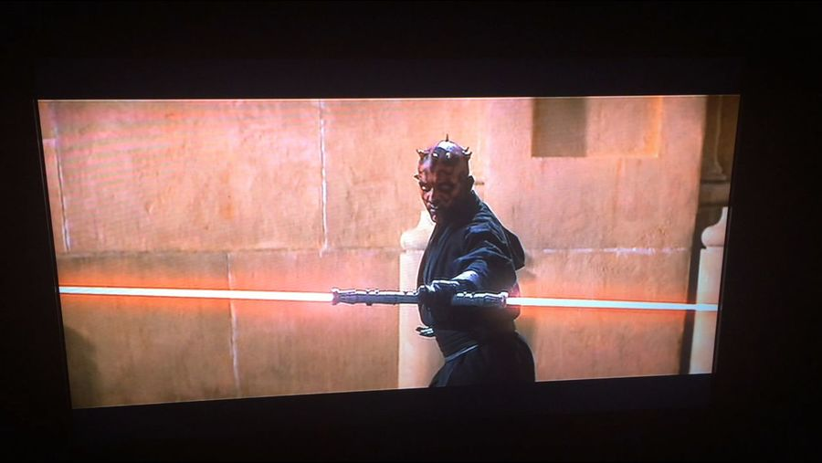One down six to go. Let the Star Wars marathon begin. The Phantom Menace