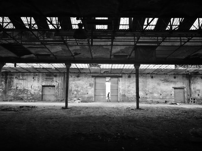 Abandoned Indoors  Built Structure Architecture No People Day Urbex Eyeem Abandonned Building Urbexexploration Desolate Scene Desolatecollection Urbexphotography Abandoned Abandoned Places One Person Blackandwhite Black & White Balck And White Dance Performance Michael Jackson Tribute The Week On EyeEm Been There. Lost In The Landscape