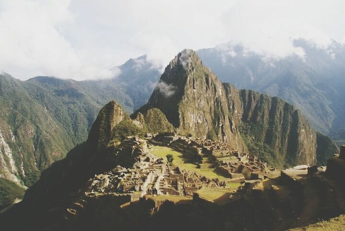 macchu picchu Peru Macchu Picchu Macchupicchu IncaTrail  Hiking Vamos Travel Mountain Fog Mountain Peak Mountain Range Nature Landscape Pinaceae EyeEmNewHere