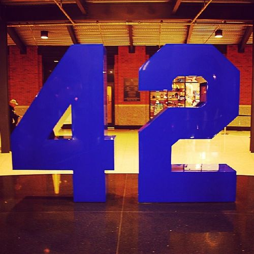 Happy Jackie Robinson Day! The work is never-ending! Mlb Jackierobinson NYMets NYY