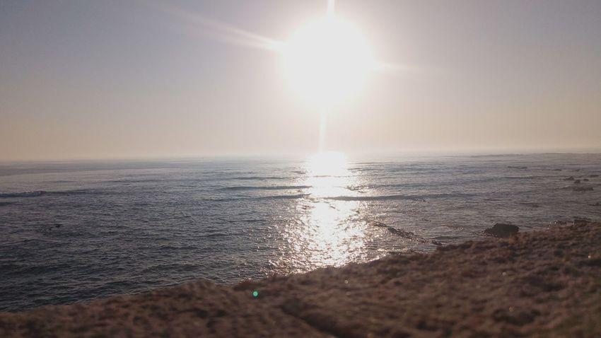 Sun Sunset Beach Sunlight Beauty In Nature Water Figueira Da Foz, Portugal